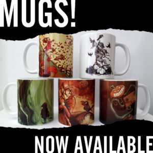 Mugs now available from Kevin McHugh Art