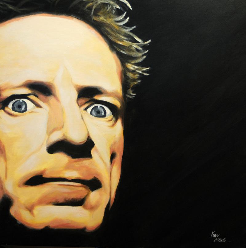 John Lydon portrait by Kevin McHugh Art