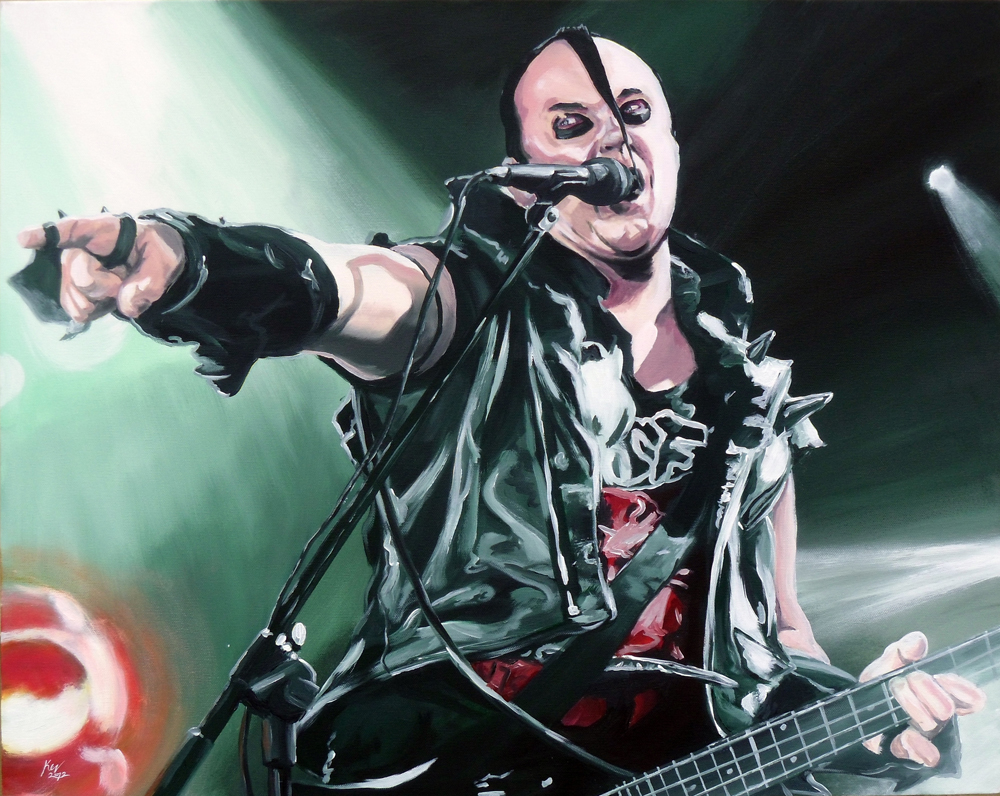 Jerry Only Portrait by Kevin McHugh Art