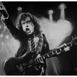 Angus Young Portrait by Kevin McHugh Art