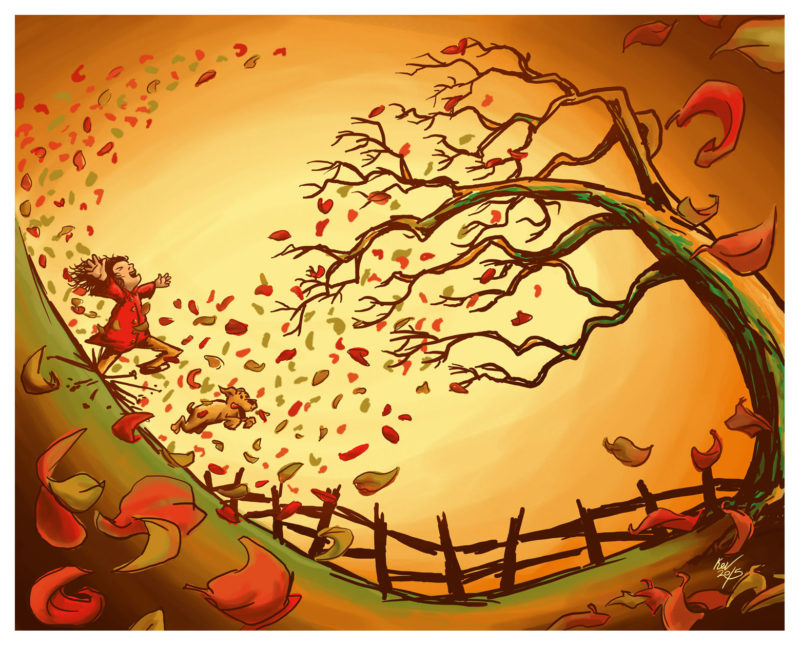 Autumn Has Arrived Giclée Print - Autumn Fall Art by Kevin McHugh