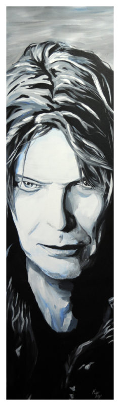 David Bowie Painting by Kevin McHugh Art