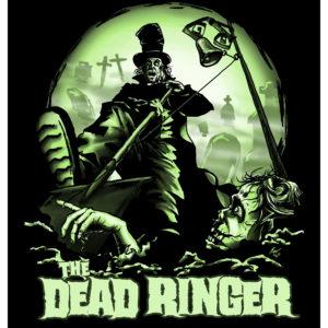 Dead Ringer Giclée Print - Zombie Art by Kevin McHugh Art