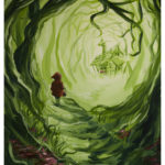 Heart of the Woods - Little Red Riding Hood by Kevin McHugh Art