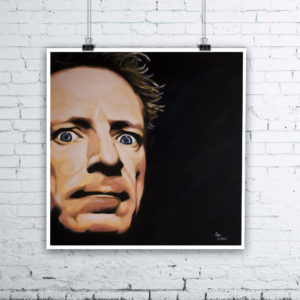 John Lydon Painting by Kevin McHugh Art