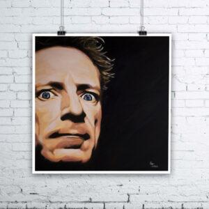 John Lydon Painting by Kevin McHugh Art