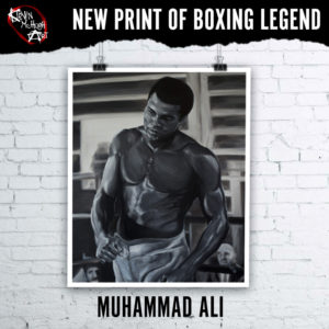 Prints of Muhammad Ali by Kevin McHugh Art