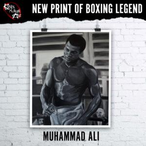 Prints of Muhammad Ali by Kevin McHugh Art