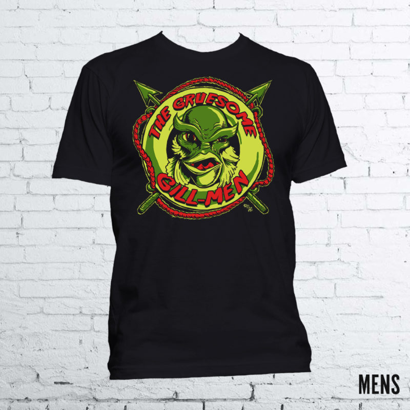 Creature from the Black Lagoon T-Shirt by Kevin McHugh Art
