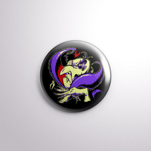 The Transylvania Drac Pack Vampire Halloween Badge