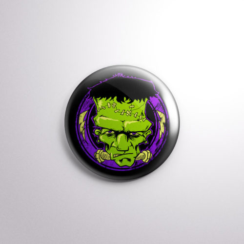 The Fiendish Frankies - Frankenstein Badge