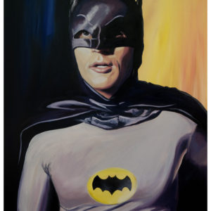 Adam West Painting by Kevin McHugh Art
