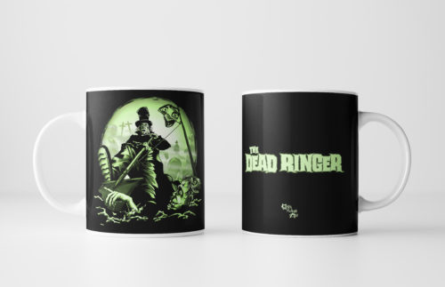 The Dead Ringer Zombie Mug by Kevin McHugh Art