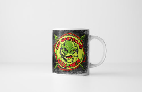 Gruesome Gillmen - Creature from the Black Lagoon Mug - Black