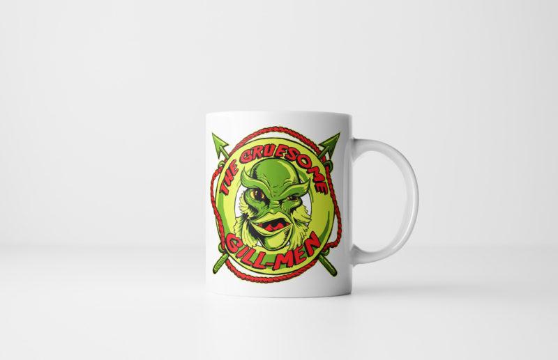 Gruesome Gillmen - Creature from the Black Lagoon Mug