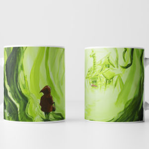 Heart of the Woods Little Red Riding Hood Mug