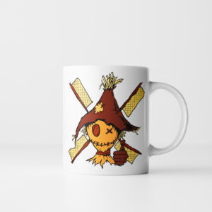 Scarecrows Dont Leave Their Post - Halloween Scarecrow Mug