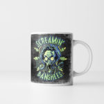 The Screamin' Banshees - Halloween Monster Mug by Kevin McHugh Art