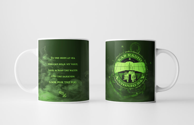 Left and Right Images of The Fog Mug