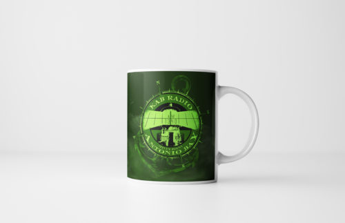 The Fog KAB Radio Mug by Kevin McHugh Art