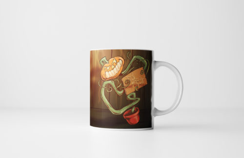The Pumpkin Pot Halloween Pumpkin Mug