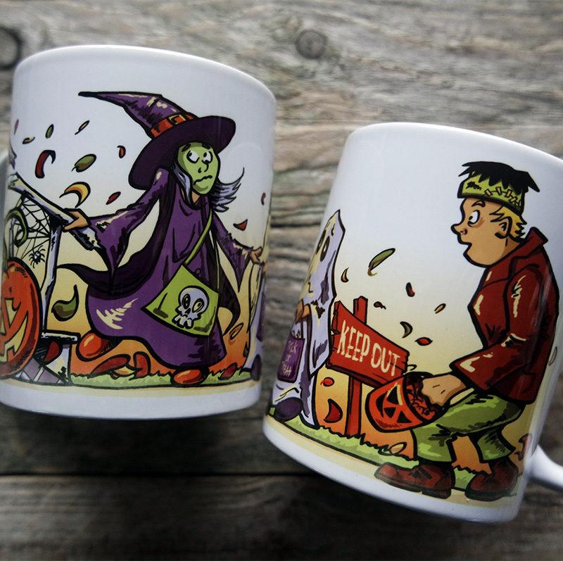 Trick or Treat Halloween Mug