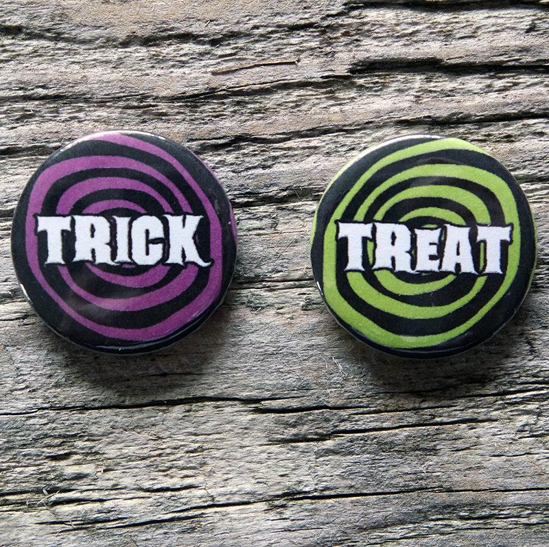 Trick or Treat Badges
