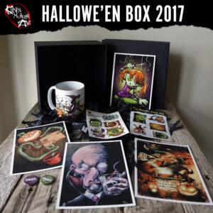 Halloween Box from Kevin McHugh Art