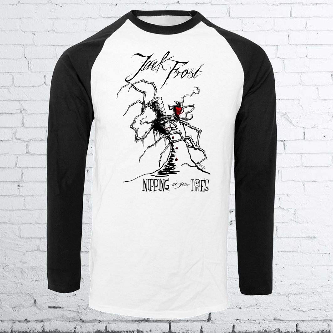 Jack Frost Horror Christmas Shirt from Kevin McHugh Art