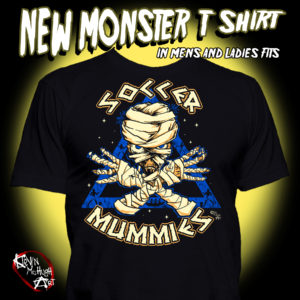 The Mummy T-Shirt Monster T-Shirt from Kevin McHugh Art