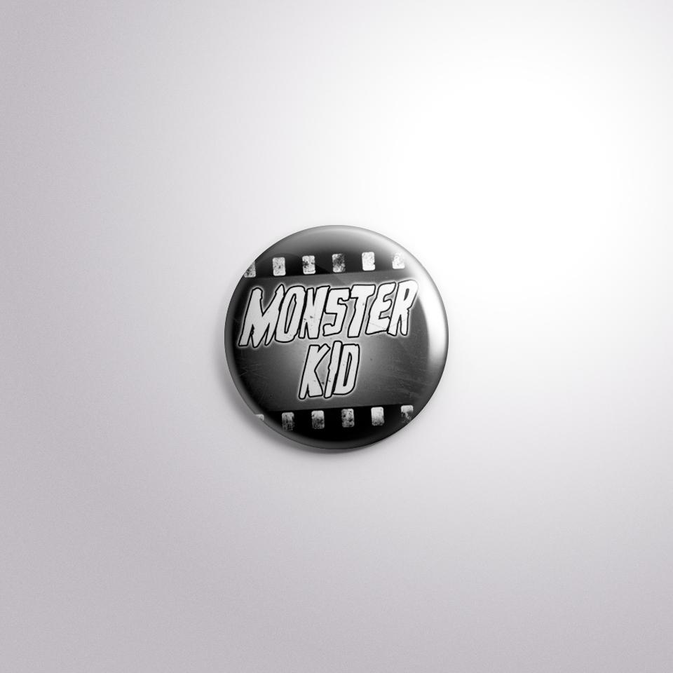 Monster Kid Badge by Kevin McHugh Art