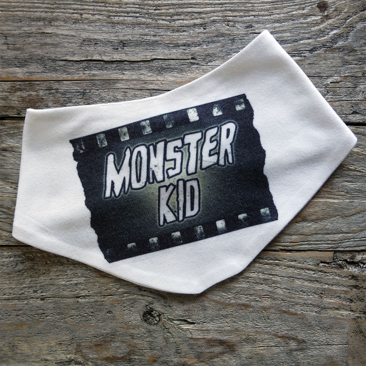 Monster Baby Bib by Kevin McHugh Art