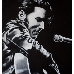 Elvis Presley Painting by Kevin McHugh Art