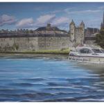 Enniskillen Painting by Irish Artist Kevin McHugh Art