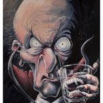 Great Grandvampa - Dracula Vampire Portrait by Kevin McHugh Art