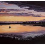 Lough Erne Painting by Irish Artist Kevin McHugh Art