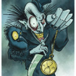 Time's Up - Halloween Illustration by Kevin McHugh Art