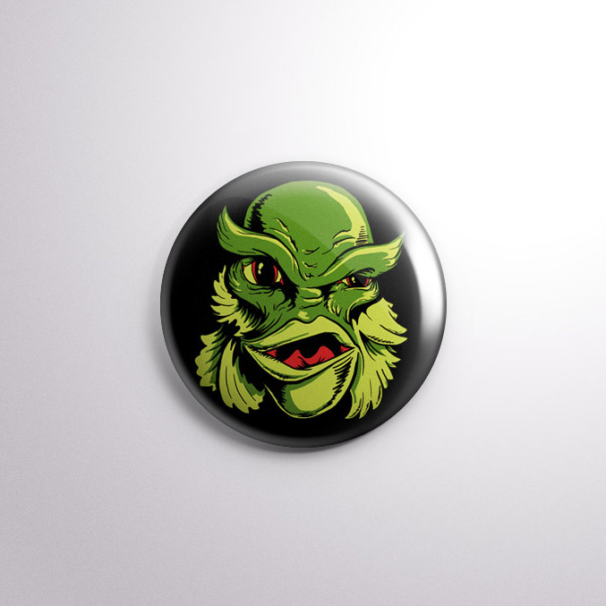 Creature from the Black Lagoon Badge