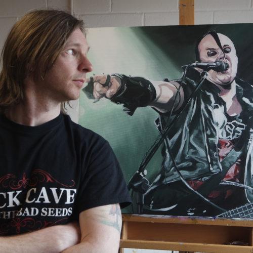 Irish Artist Kevin McHugh - Portraits, Murals & Illustrations